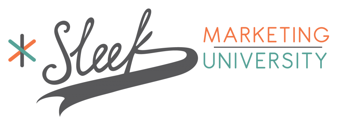 Logo Sleek Marketing University